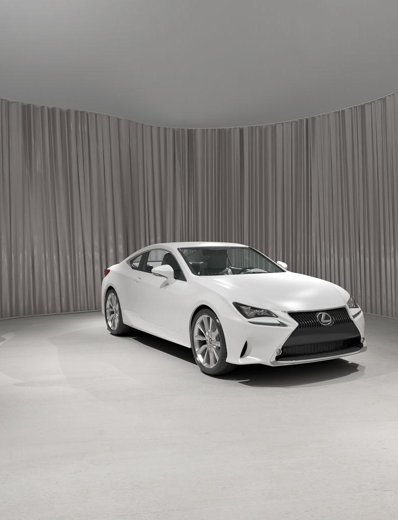 LEXUS RC - Design Proposal for the new Lexus Car Dealer