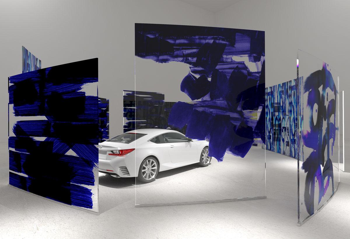 LEXUS RC - Design Proposal for the new Lexus Stores