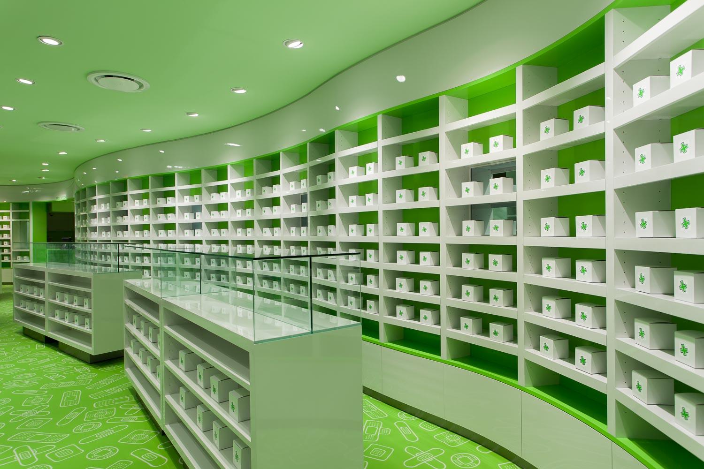 Careland Pharmacy Design, Interior Retail Store Design