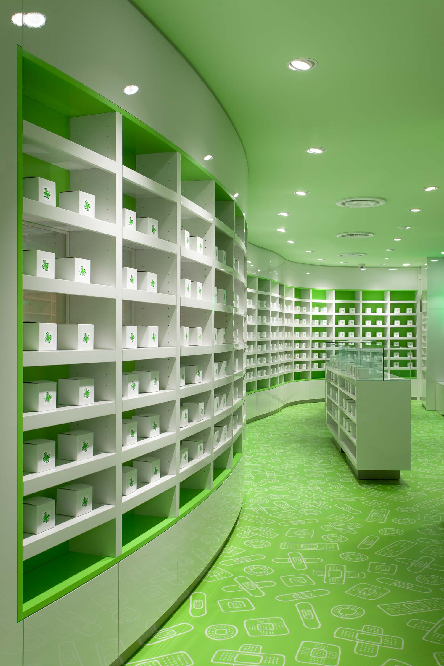 Careland Pharmacy Interior