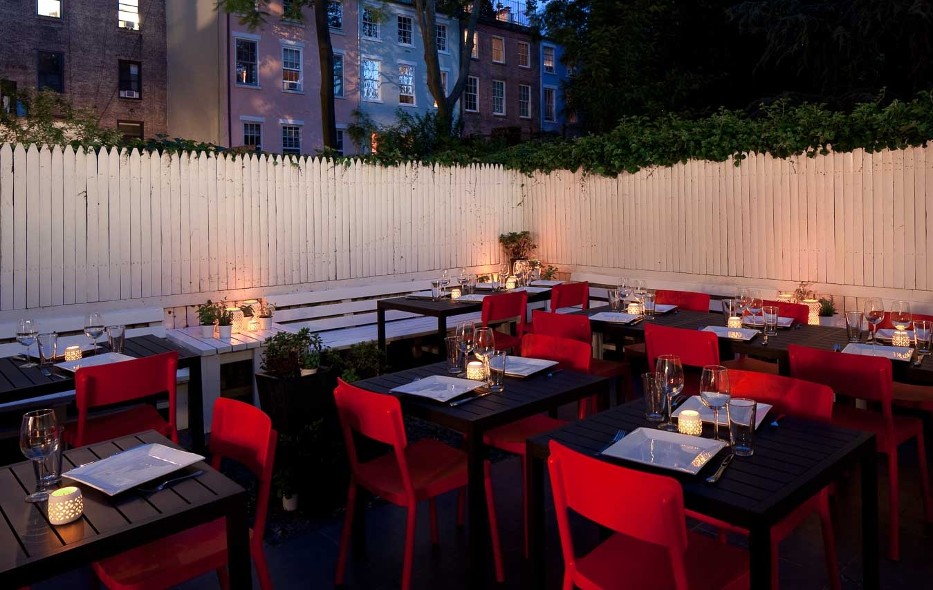 A View of the Restaurant Backyard