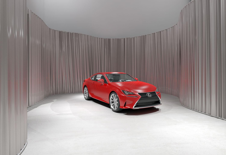 LEXUS RC - Design Proposal for the new Lexus Car Dealers