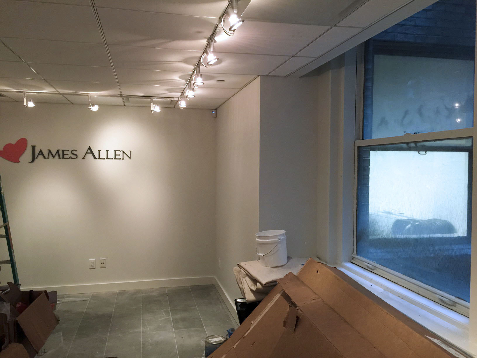 James Allen Jewelry Showroom Existing Conditions