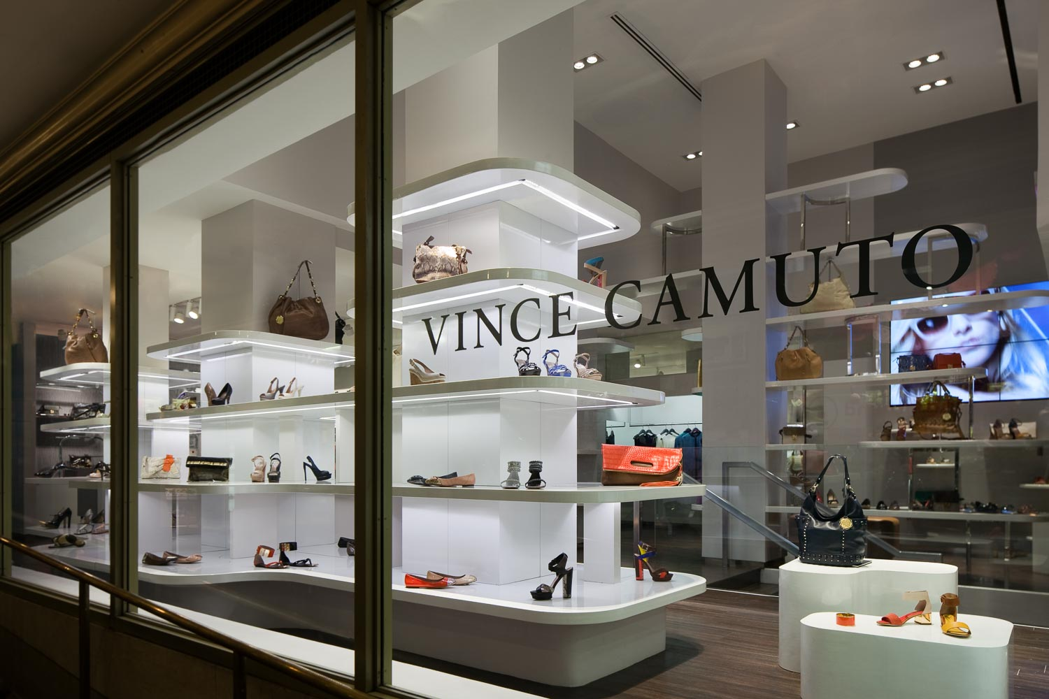 Vince Camuto Shoe Store Design - New York