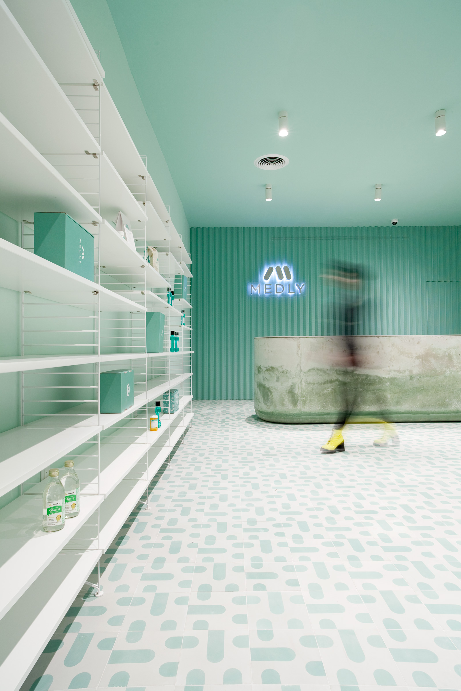 Medly Pharmacy Retail Design