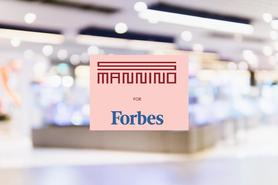 The Innovation Retail Needs  Sergio Mannino for Forbes