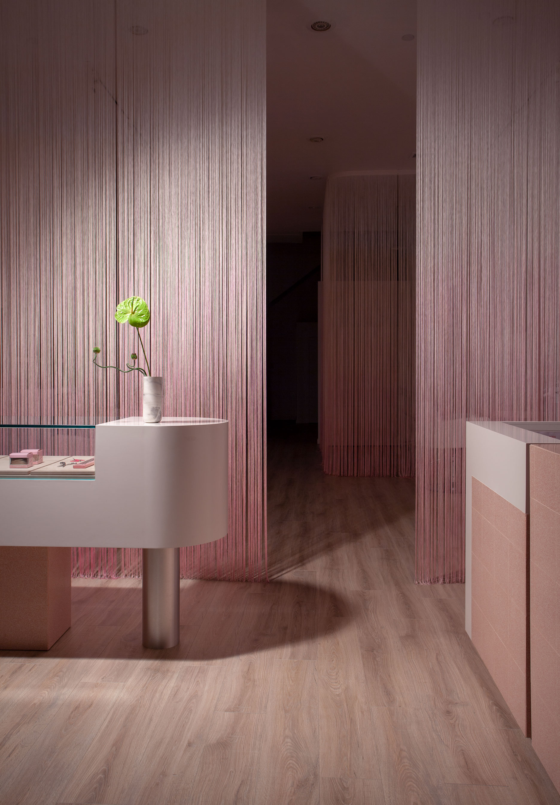 Glam Seamless Hair Salon Design