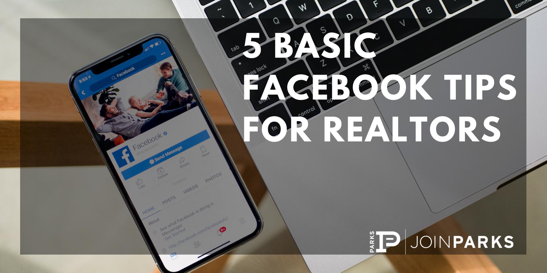 5 Basic Facebook Tips for Realtors.png