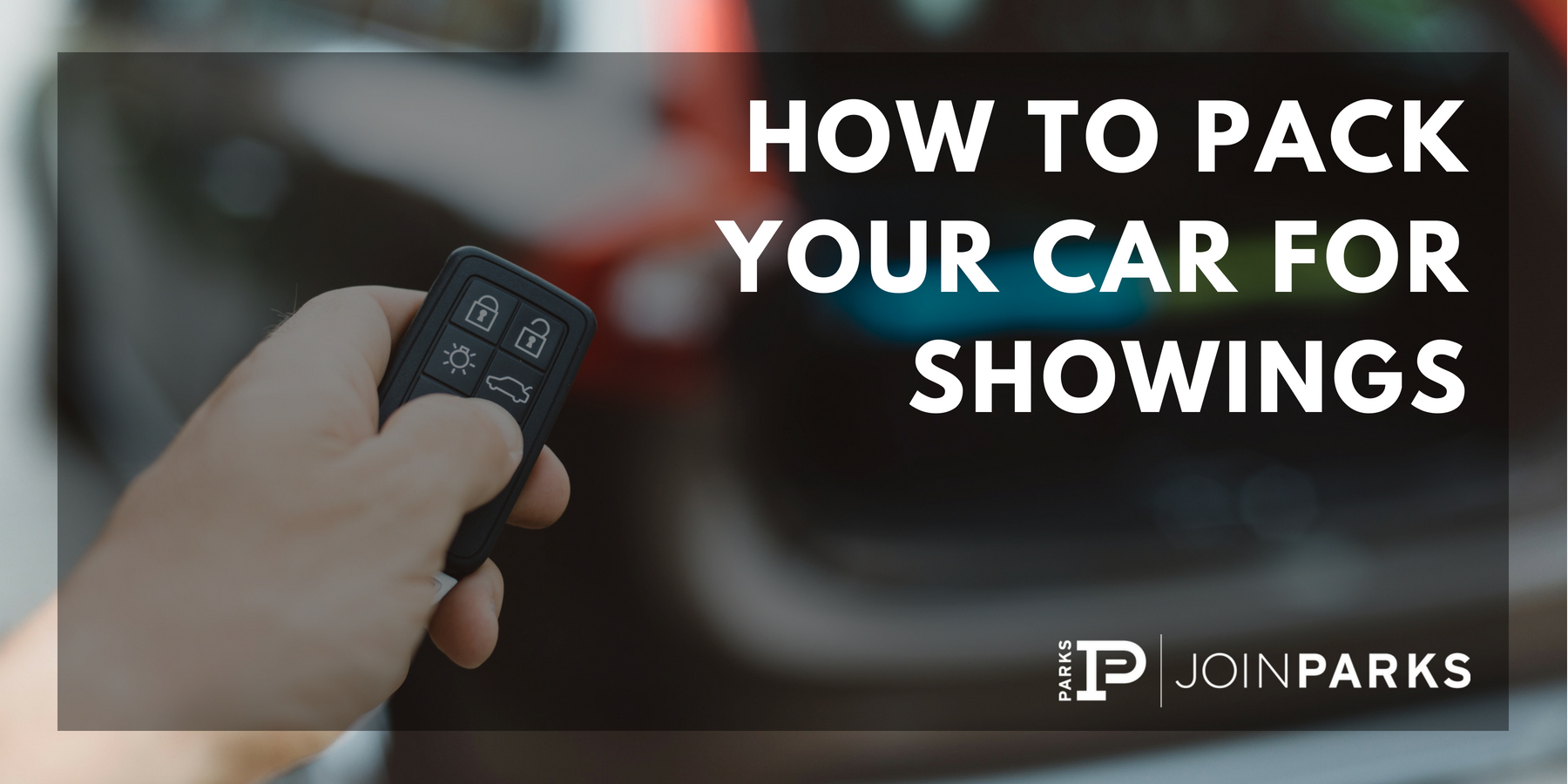 client showings essential car packing list real estate
