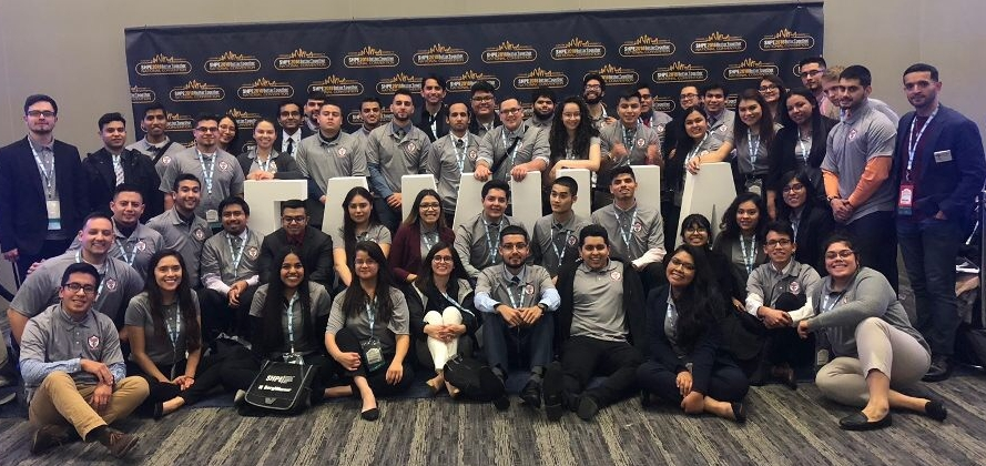 SHPE-UIC at Nationals 2018 in Cleveland, Ohio.