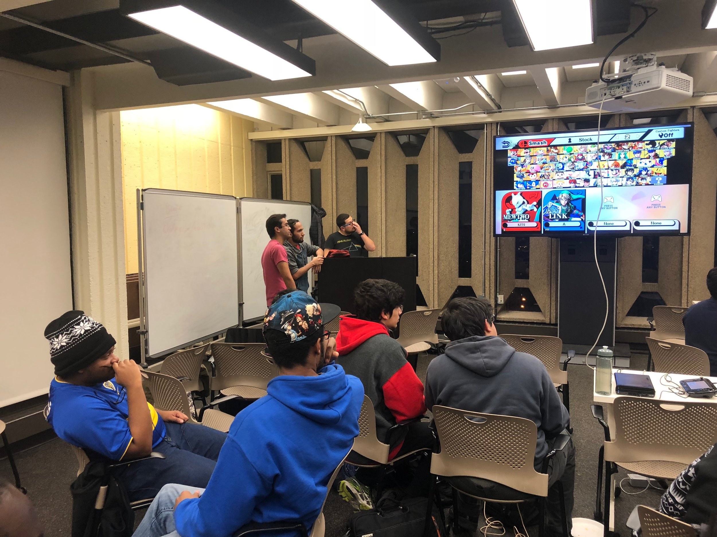 Community Building Events - Create events based on community interest that help promote our chapter, as well as, providing fun events for our members to unwind throughout the school year.