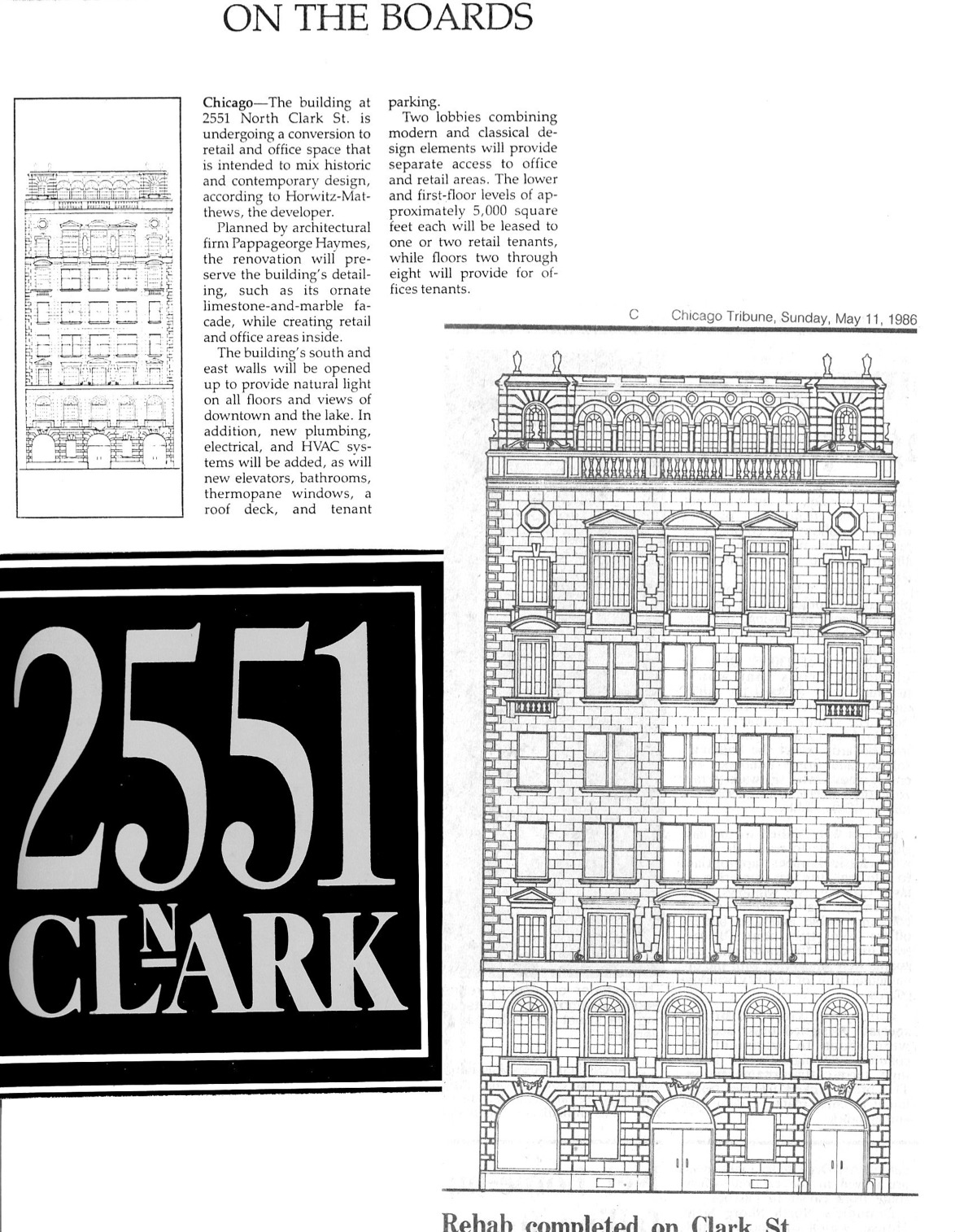Crain's Chicago Business 1986