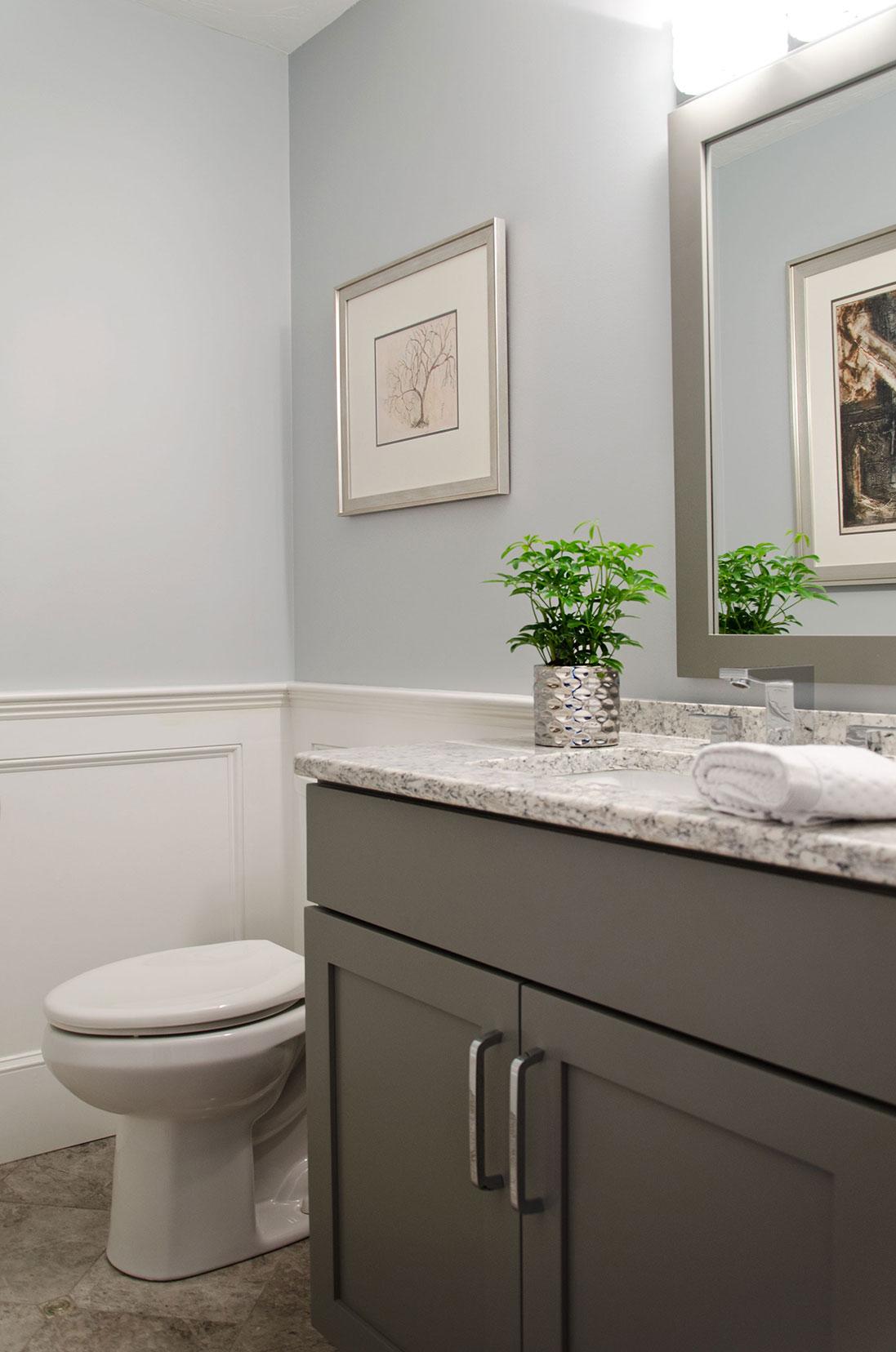 Bathroom interior design by Susan Curtis