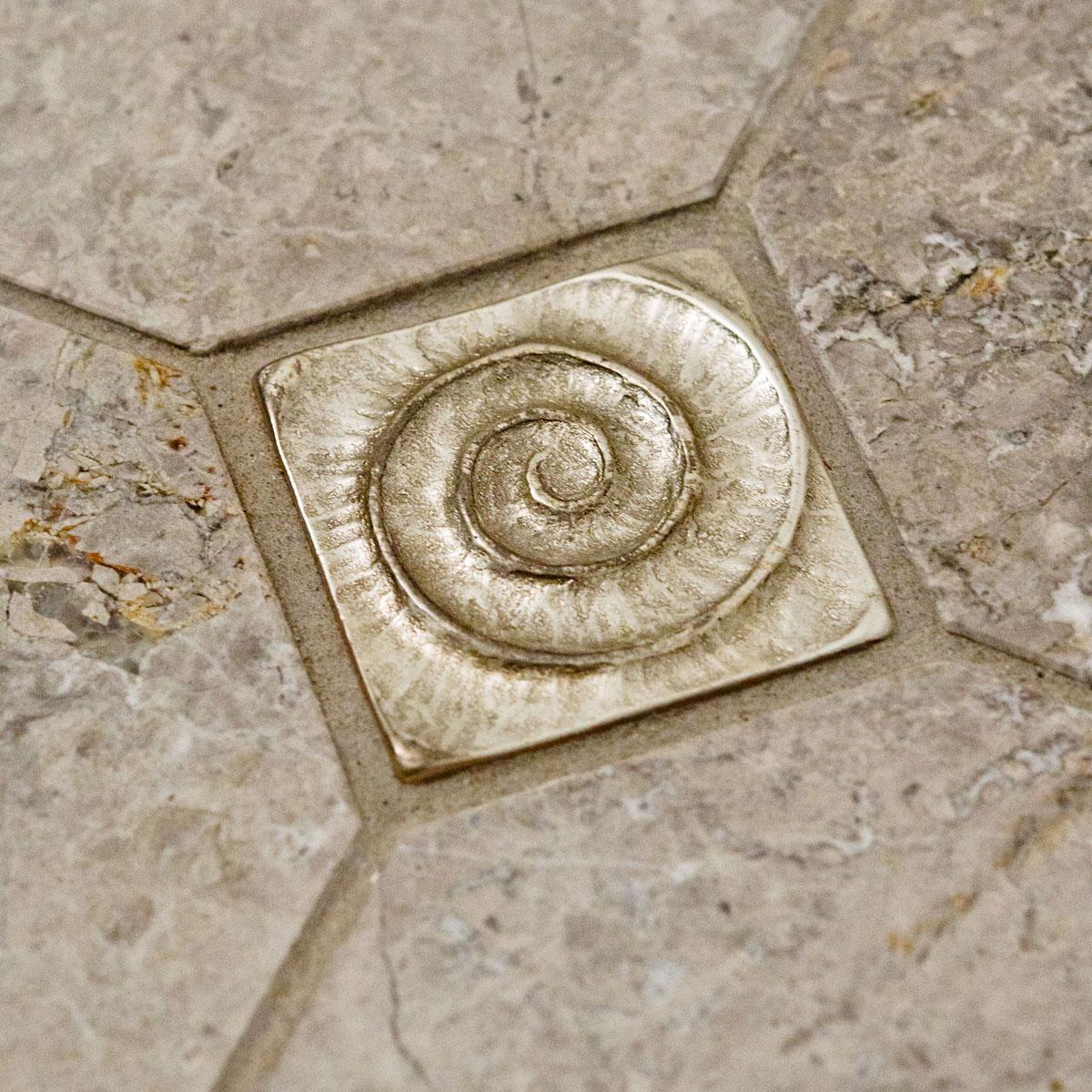 Bathroom custom tile by Susan Curtis Interiors