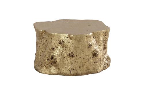 coffee tables log coffee table gold leaf