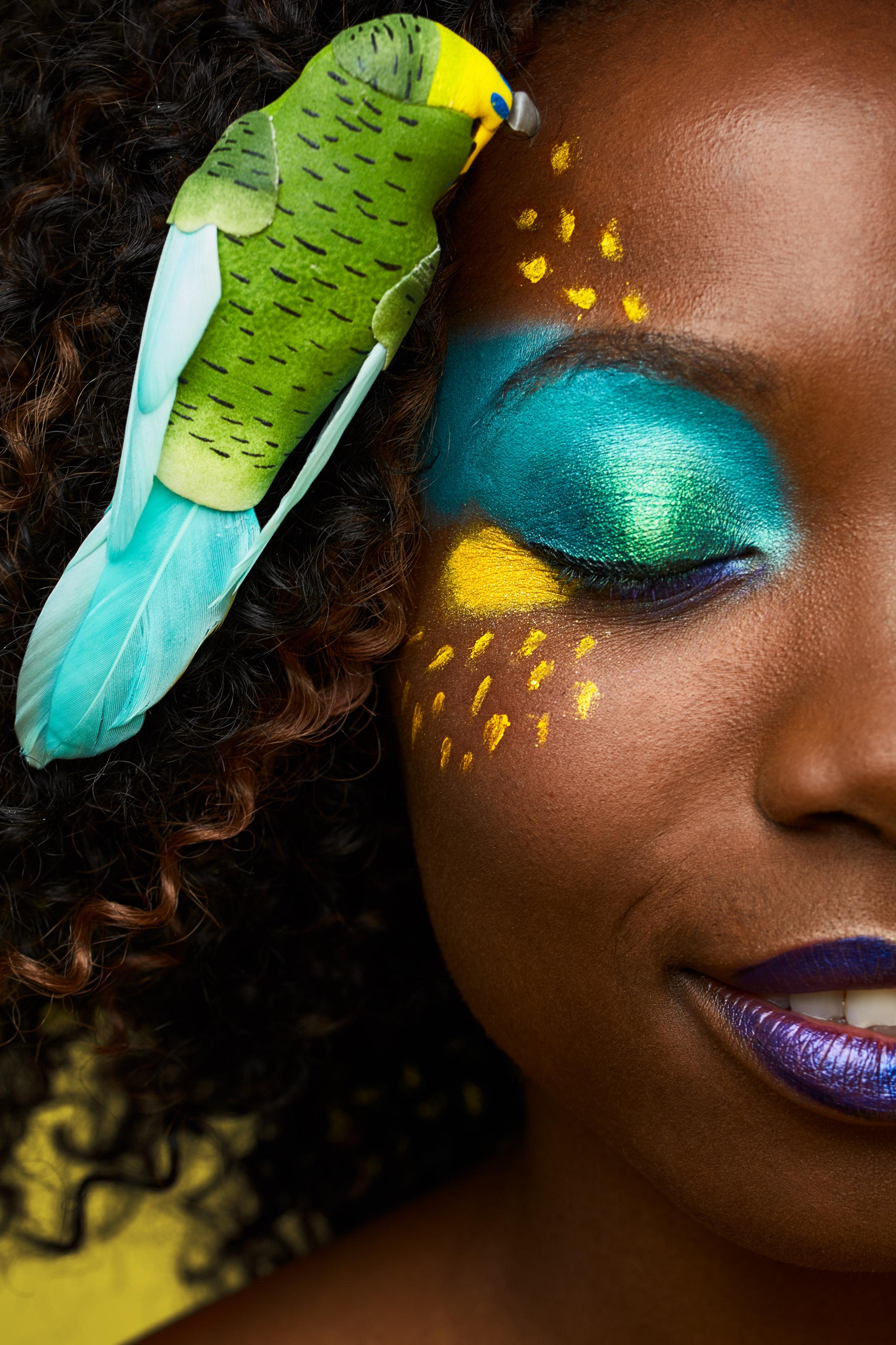 Model: Sandrine S. MUA: Poudre et Paillettes
