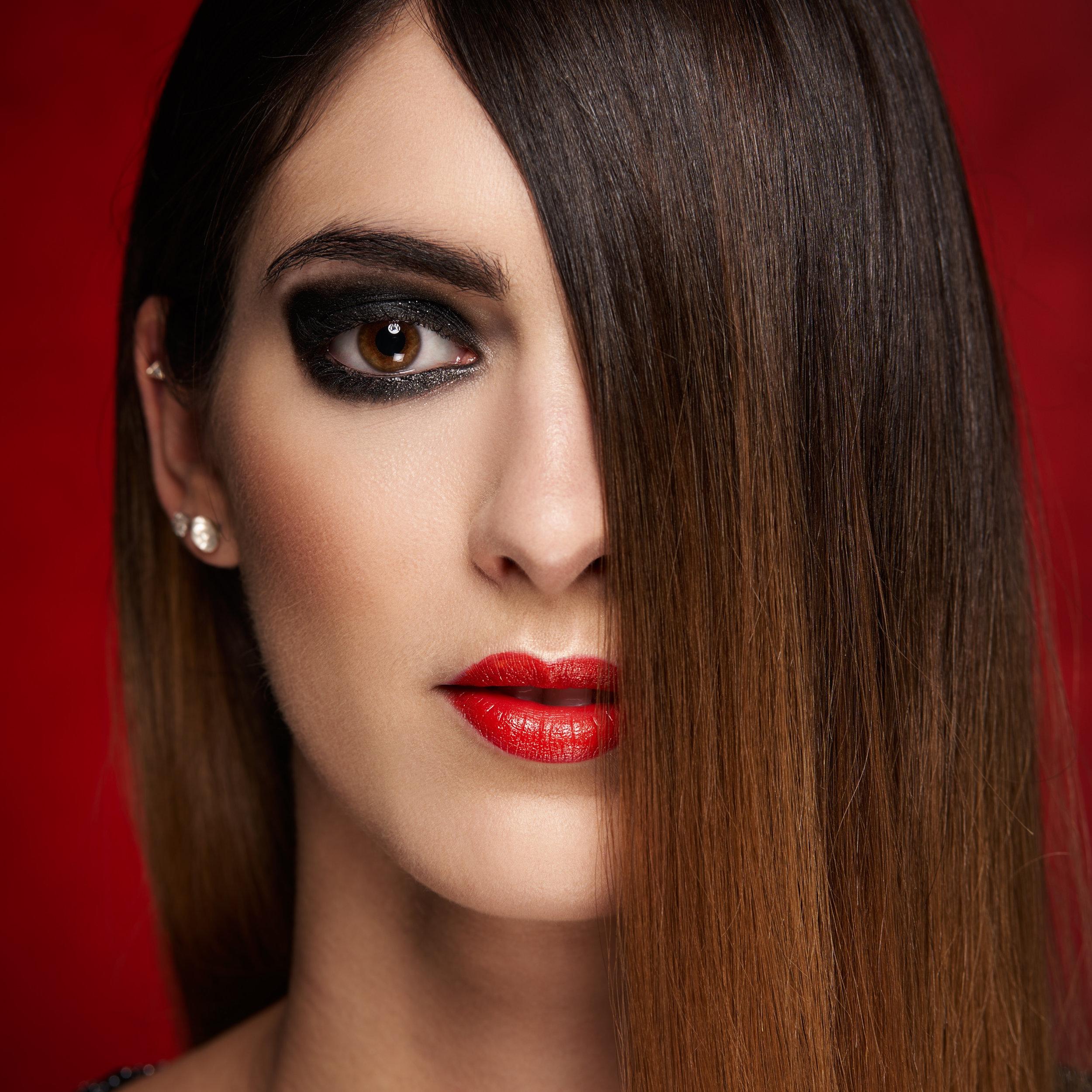 Model: Charlotte B. MUA: Poudre et Paillettes
