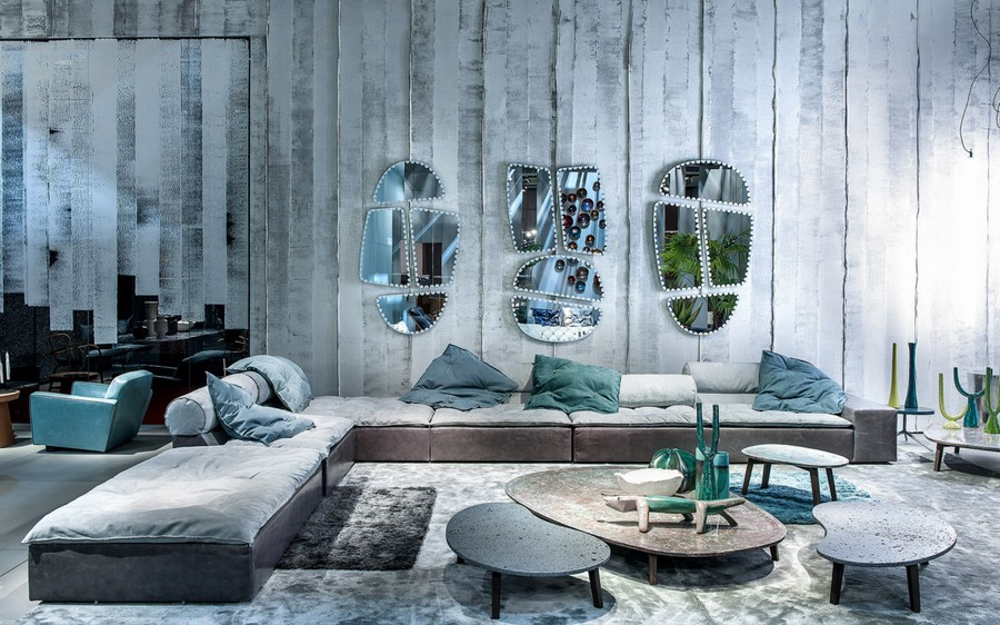 10-6-Baxter-new-collection-of-contemporary-style-furniture-at-Salone-de-Mobile-Exhibition-Milan-2017-gray-blue-corner-sofa-coffee-tables-throw-couch-pillows-asymmetrical-mirrors.jpg