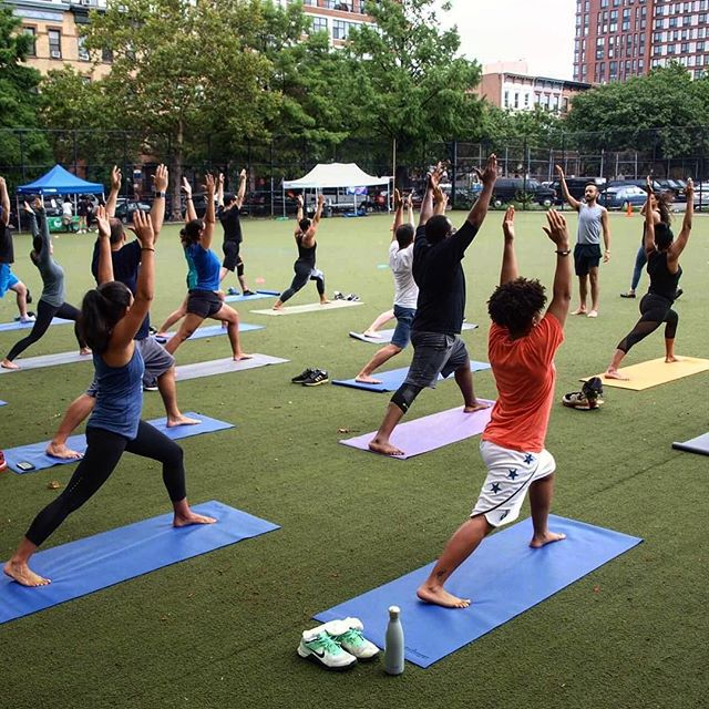 From bottom of my heart THANK YOU guys for supporting the first RUN, YOGA, & CROSSFIT series. @brooklynfitfest