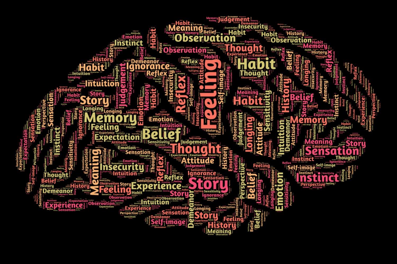 Mente humana, pensamientos, valores, memorias