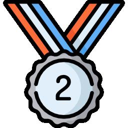 Icono con el numero dos
