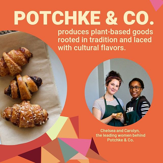We are super excited 🎉 to be hosting Potchke & Co. this Sunday from 11am-3pm! Potchke is a female-owned 👯♀️ plant-based business delivering unique and culturally inspired baked goods to the Boston area. They'll be slinging rugelah from our kitchen this Sunday in a variety of delicious and exciting flavors, and we can't wait to serve 'em up to you! 🥐🍰 @chelseaschomps #popup #bostonvegan #veganinboston #femaleownedbusiness #bakedgoods #femalepower #brunch #brunchbabes