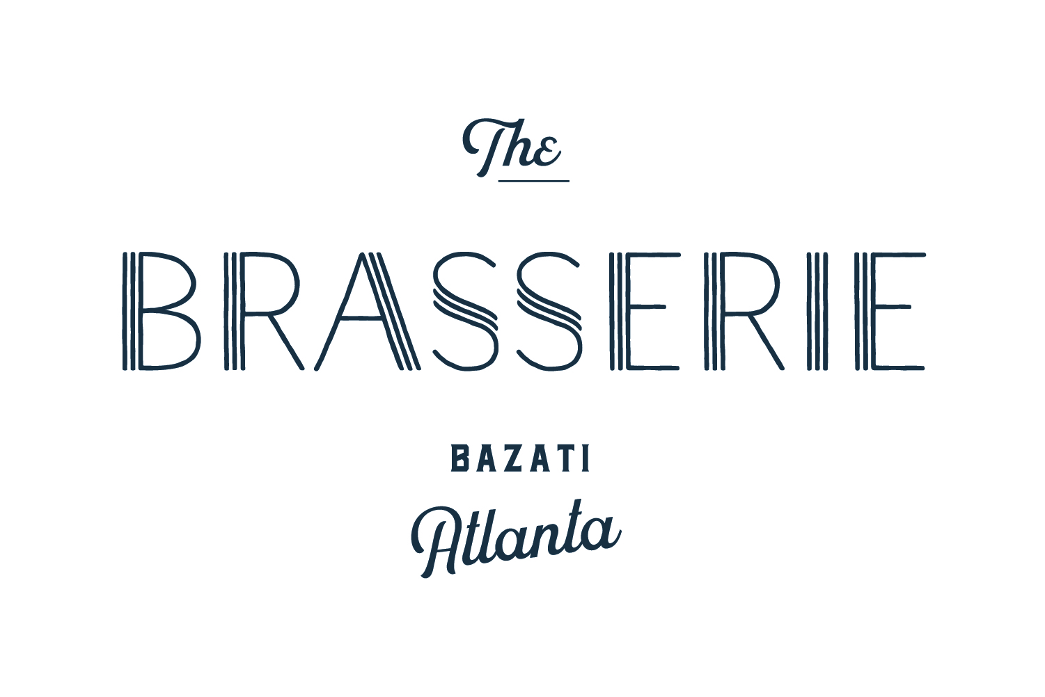 Make a reservation - Downstairs at Bazati Atlanta, The Brasserie offers authentic French cuisine