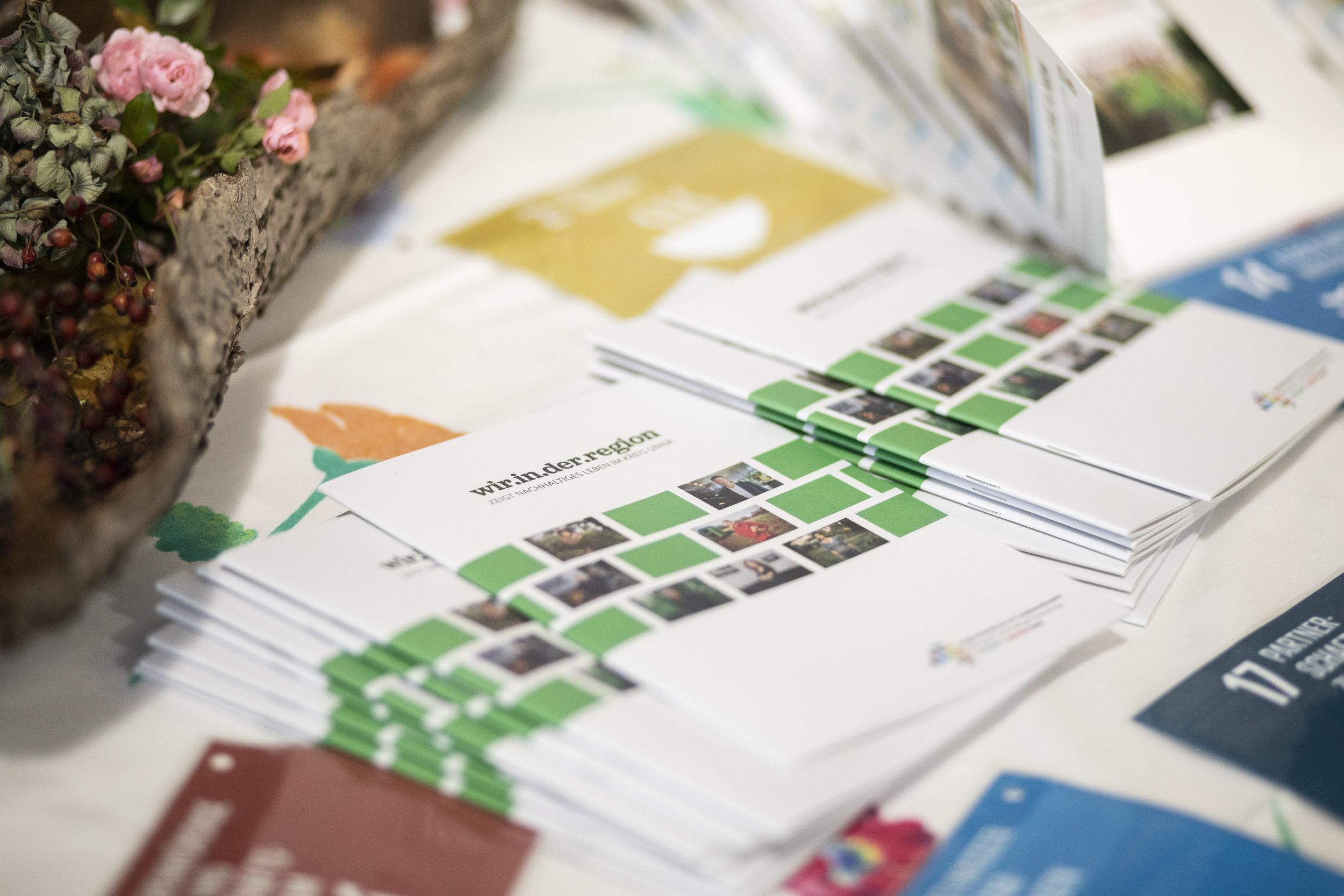 Die Broschüre zum Projekt wir.in.der.region