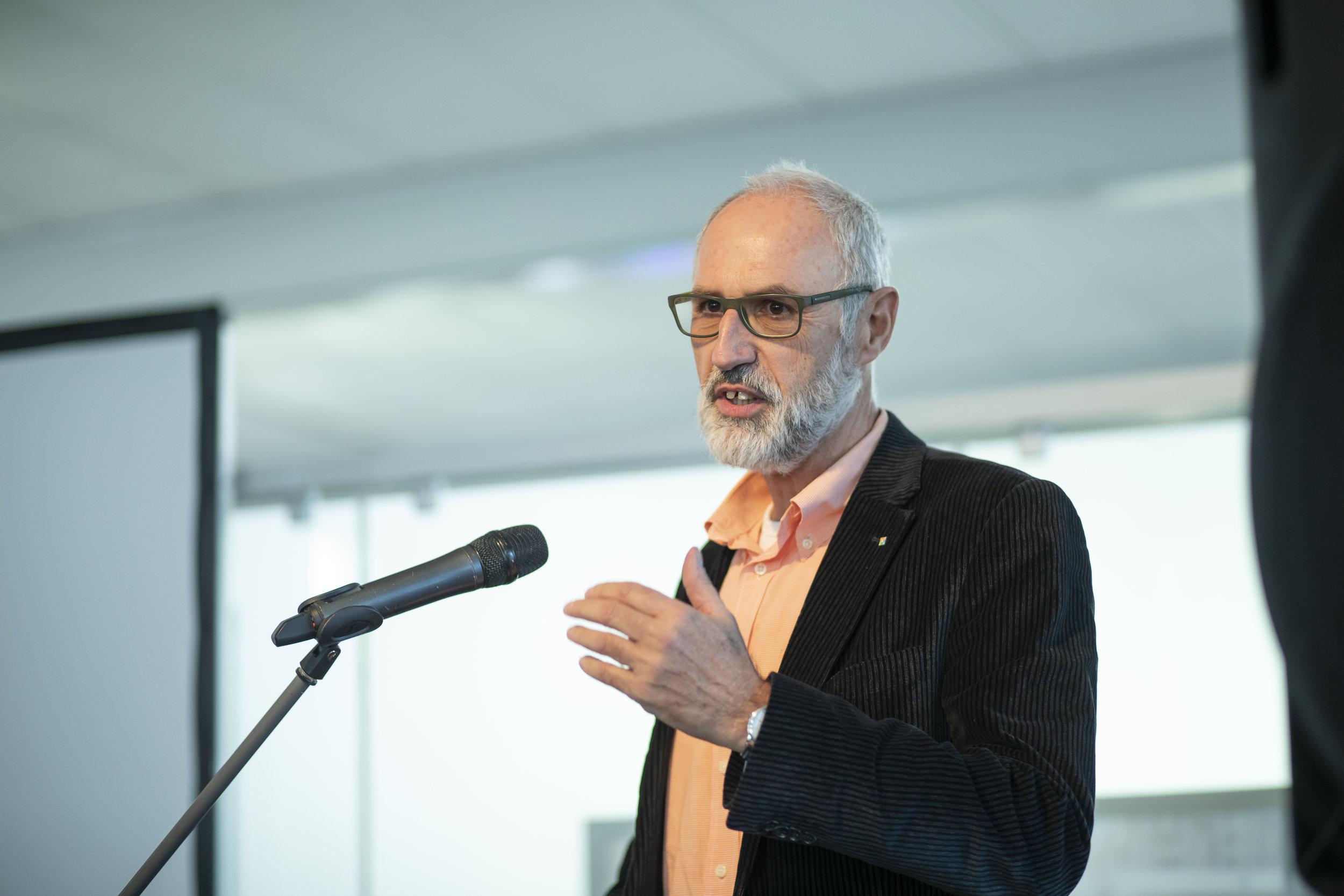 Ludwig Holzbeck, Dezernent für Bauen, Vermessung und Kataster, Natur und Umwelt im Kreis Unna