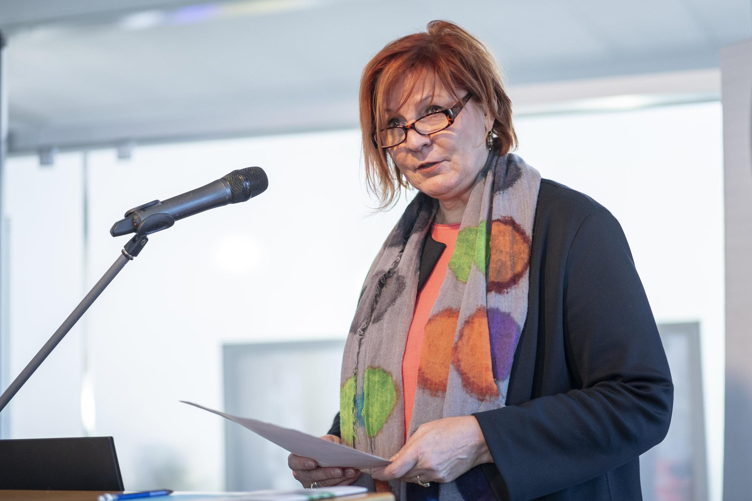 Martina Schmidt von Boeselager, Geschäftsführerin der Waldschule Cappenberg, BNE-Regionalzentrum im Kreis Unna