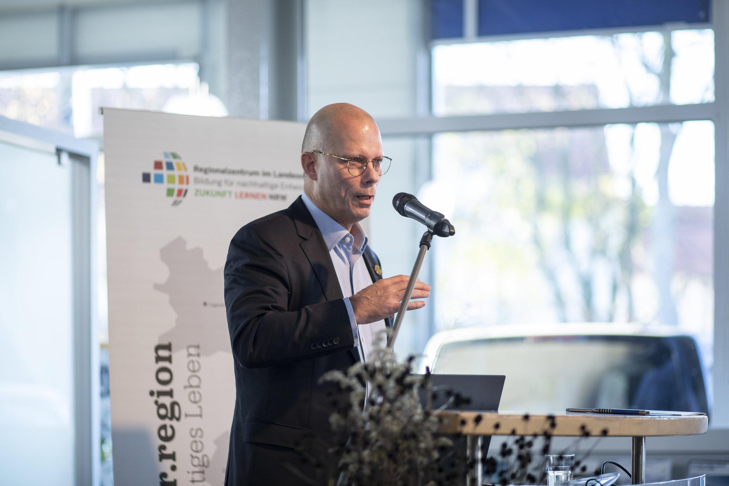 Prof. Dr. Günther Bachmann, Generalsekretär des Rats für Nachhaltige Entwicklung