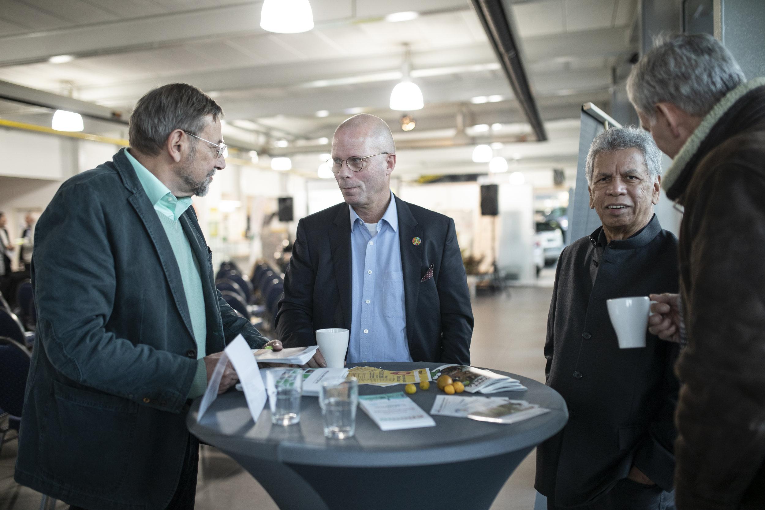 Protagonisten im Gespräch mit Günther Bachmann