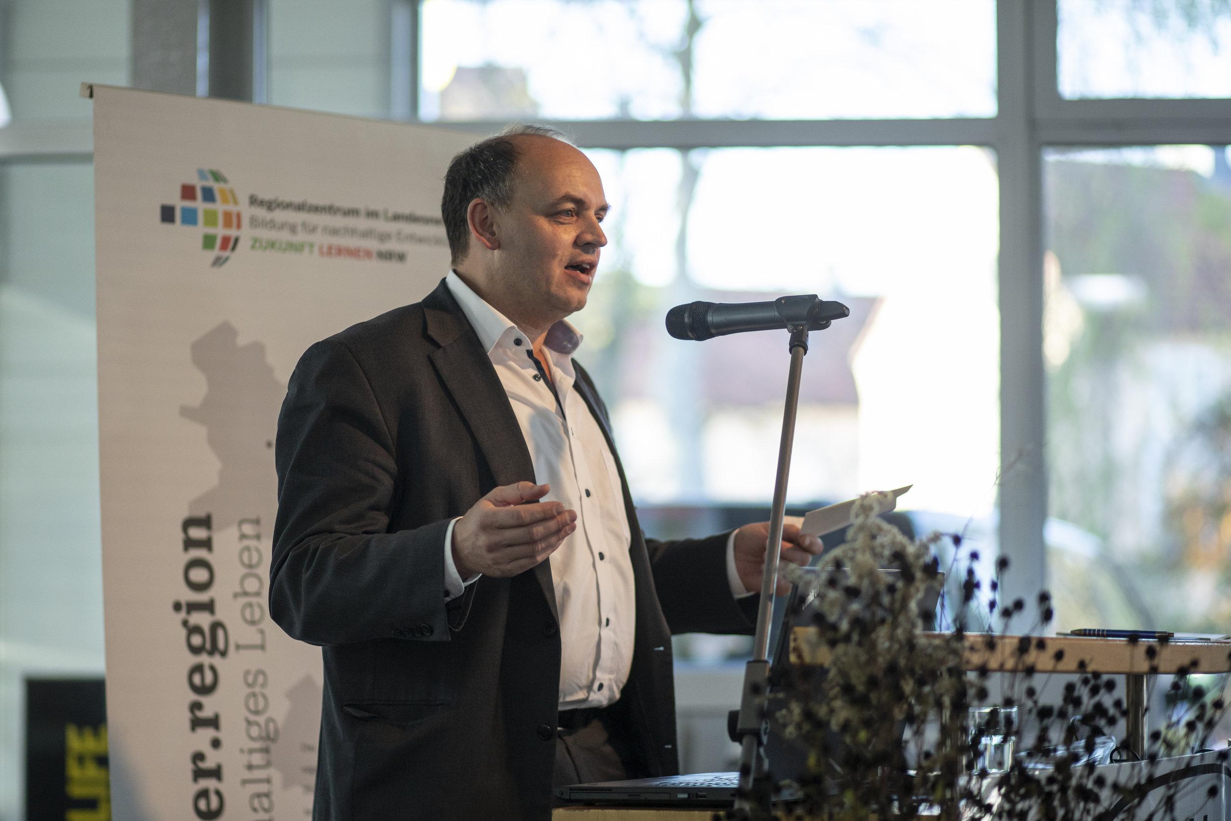 Viktor Haase, Abteilungsleiter für Nachhaltige Entwicklung, Klimawandel und Umweltwirtschaft
