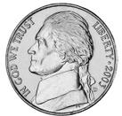 #4 Diameter of Nickel