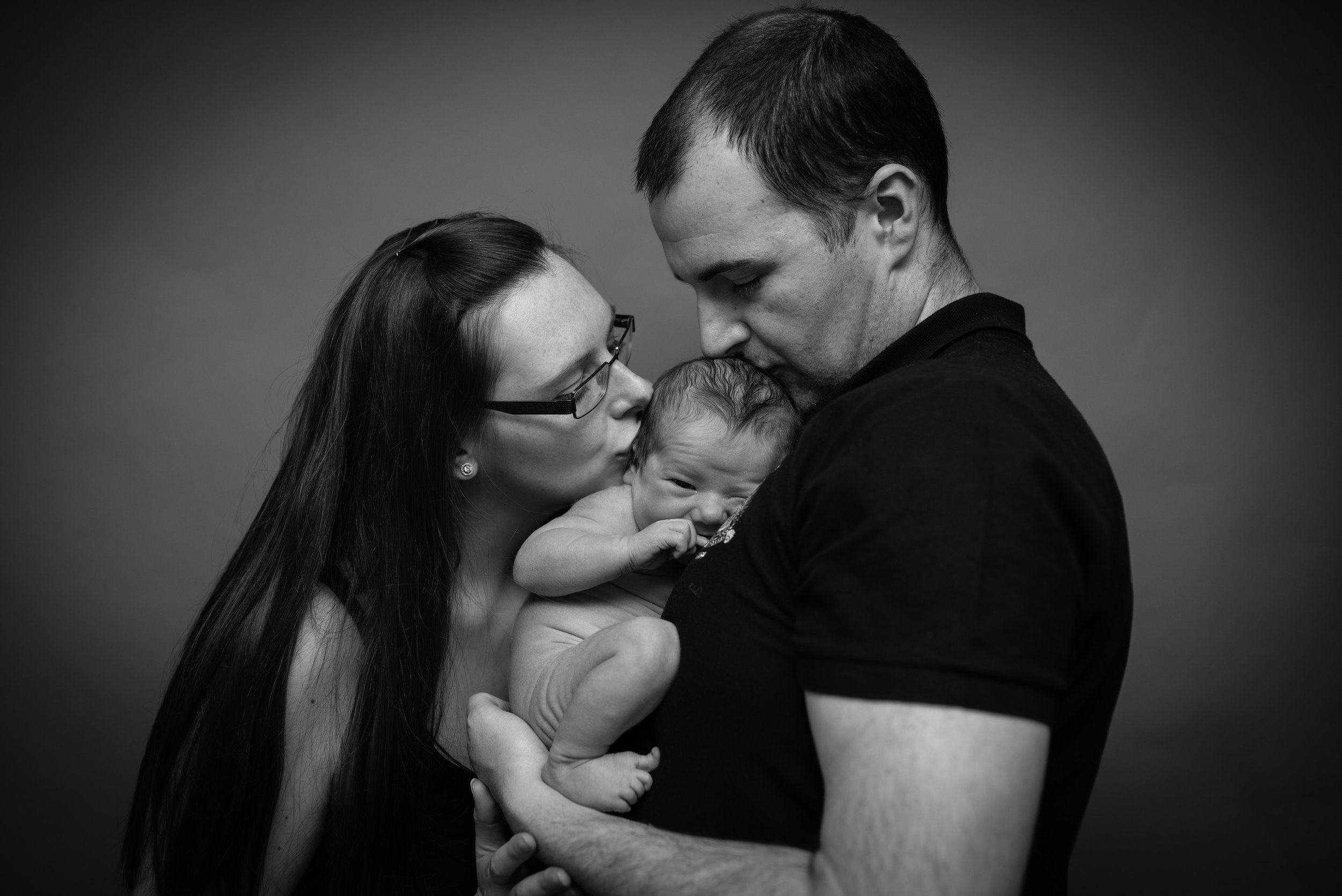 Lancashire newborn photo session