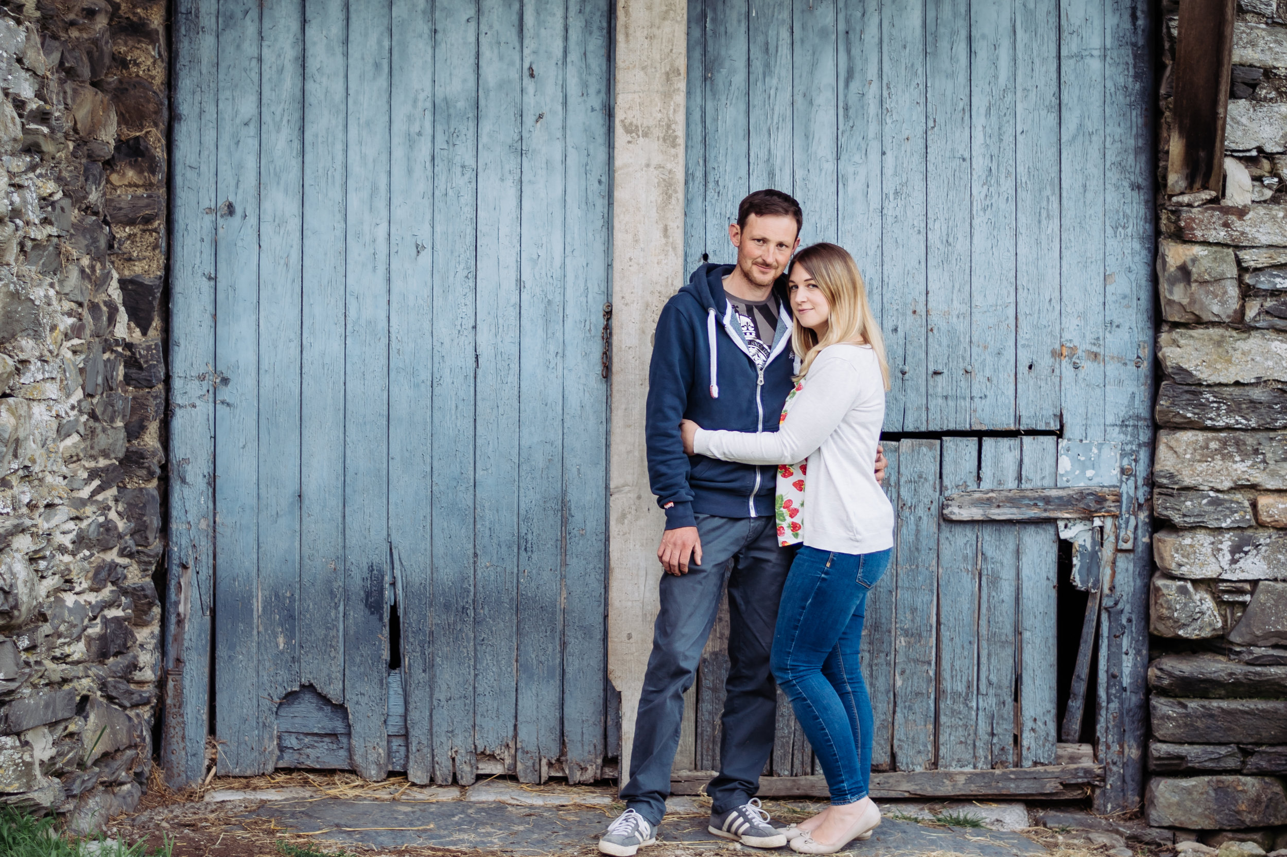 Cumbria farm engagement shoot