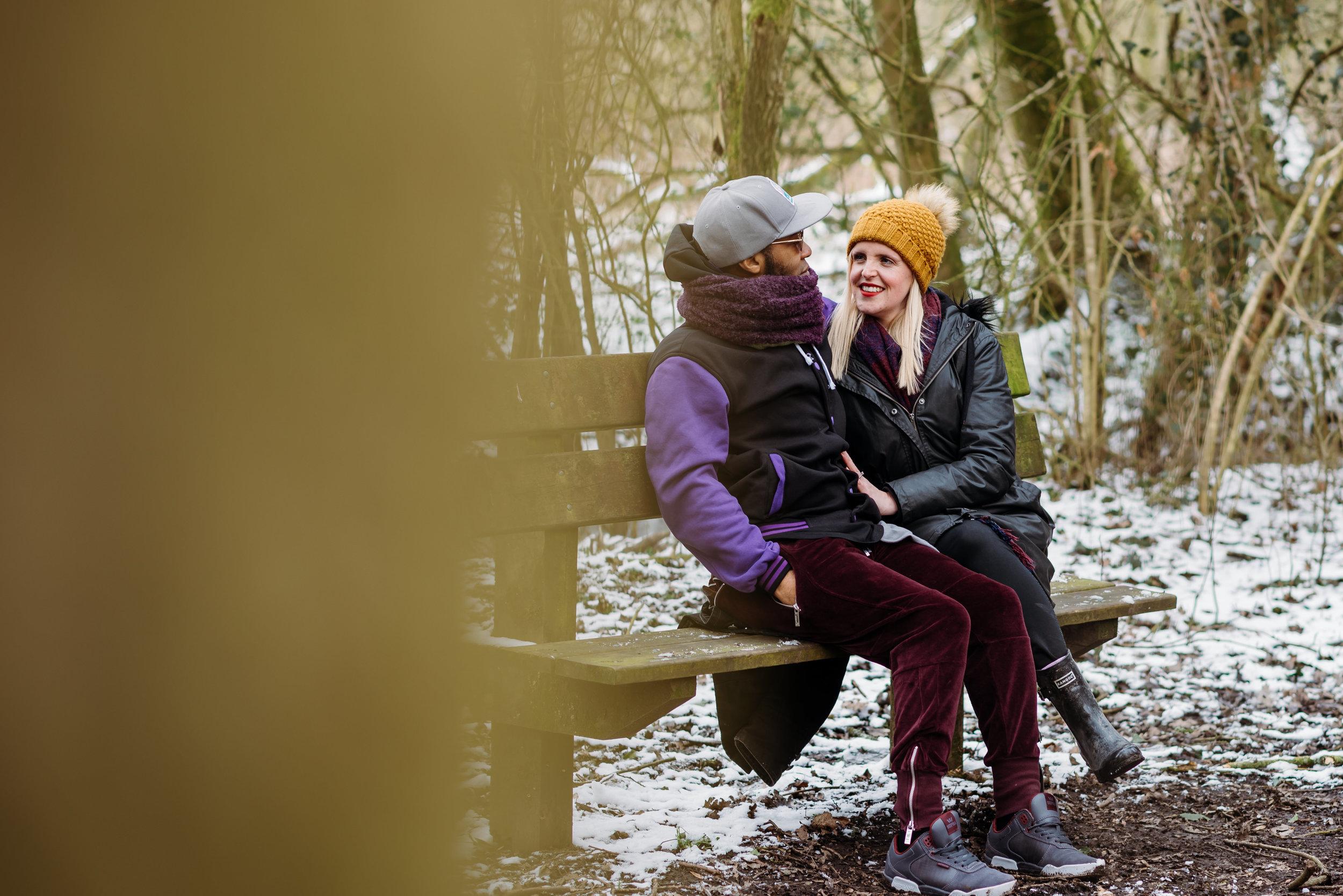 Engagement shoot - Fletcher Moss. Manchester