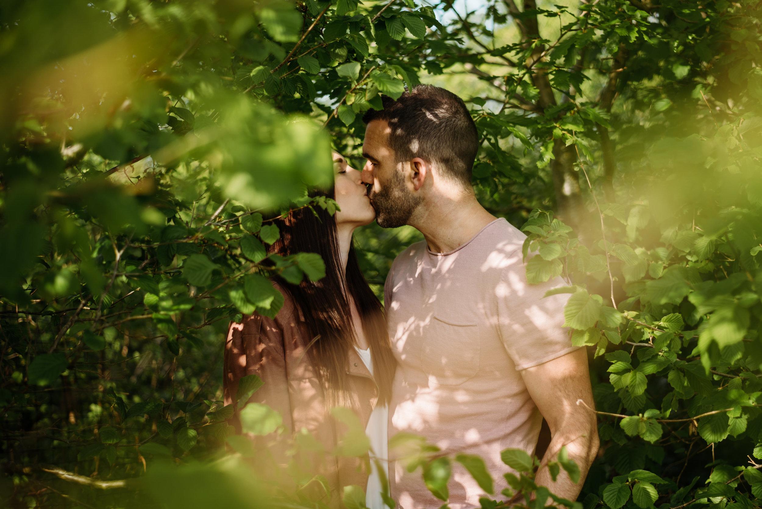 Sarah & Andy pre wedding shoot at brockholes nature reserve