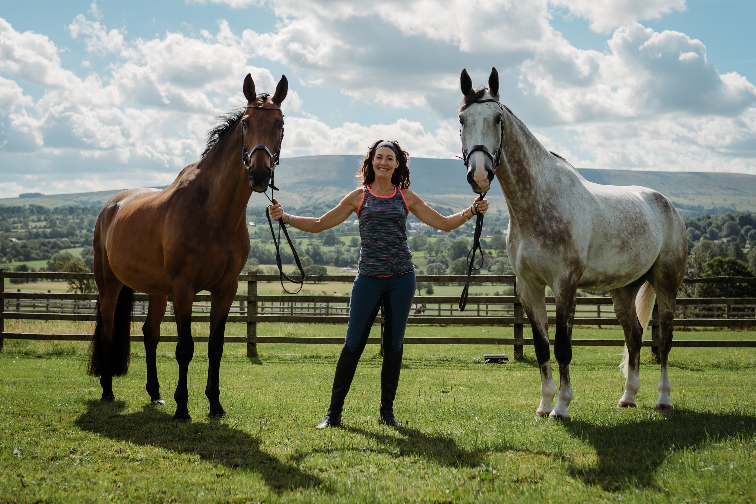 Ribble Valley horse photographer