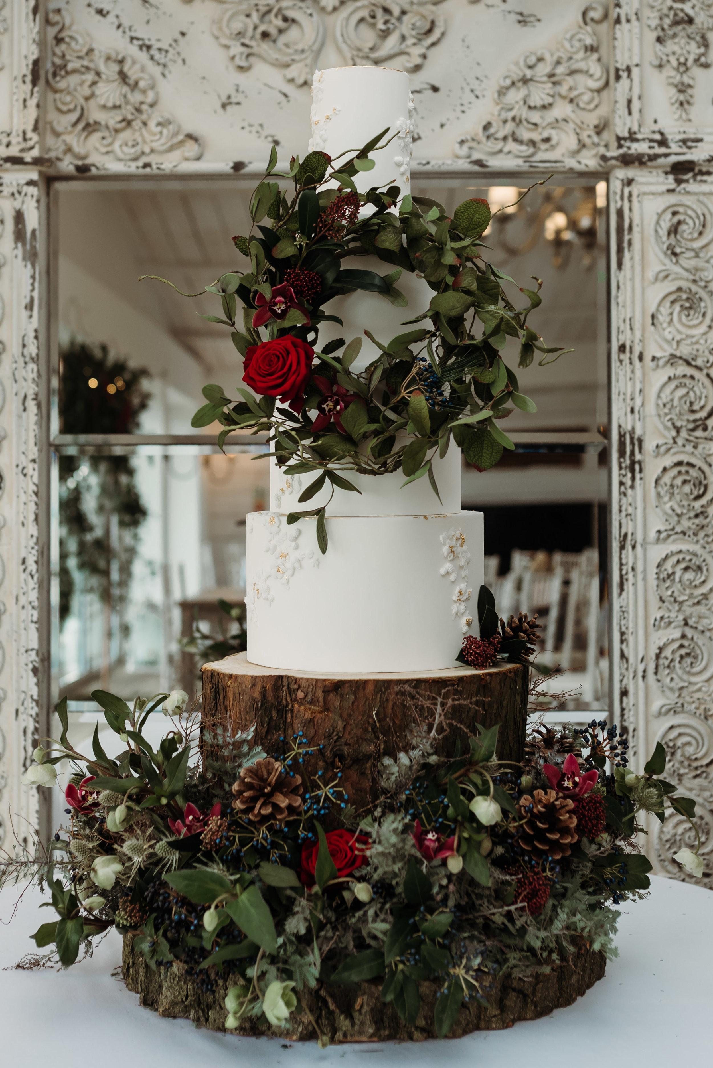 Clitheroe wedding cake