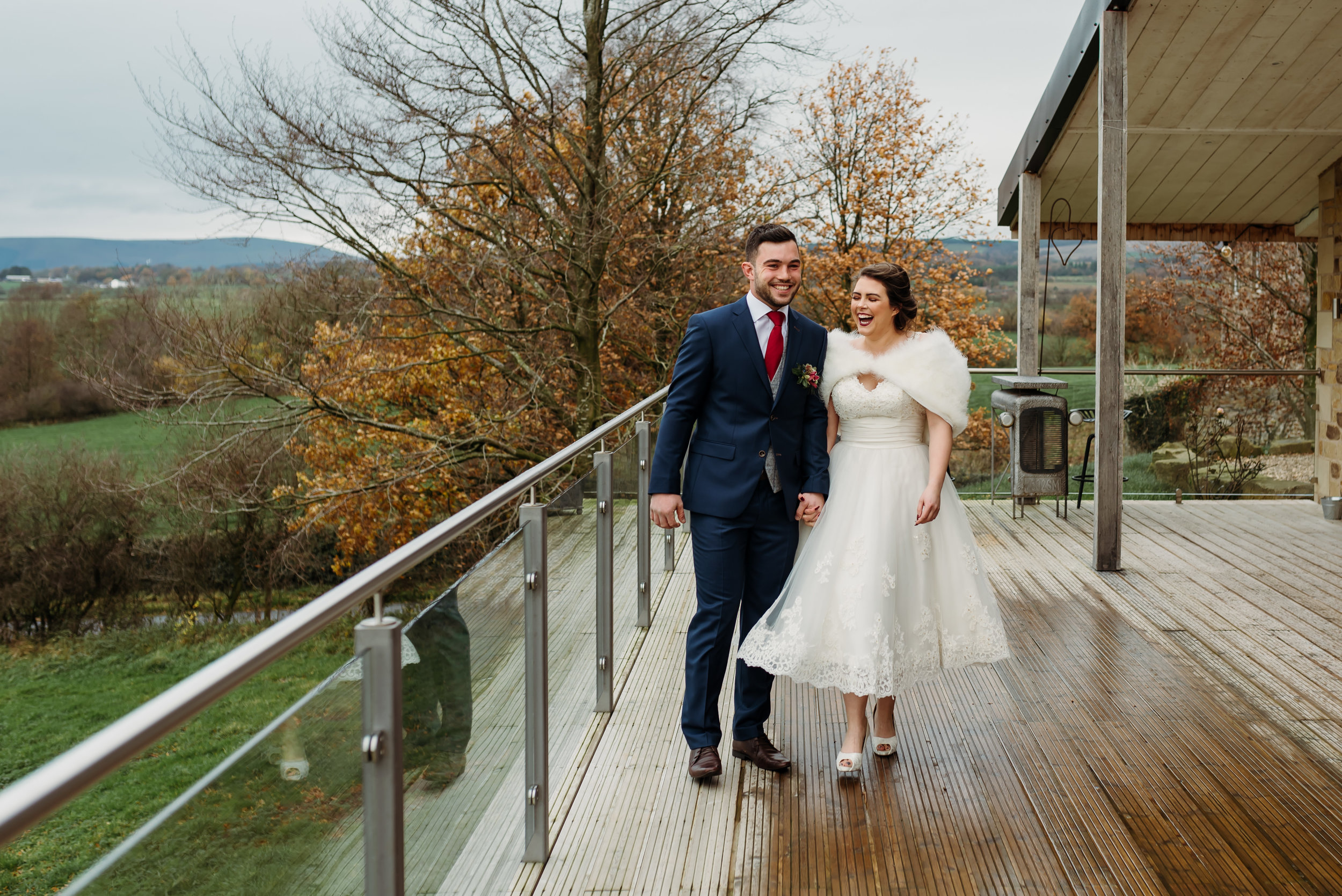 Lancashire wedding  - winter