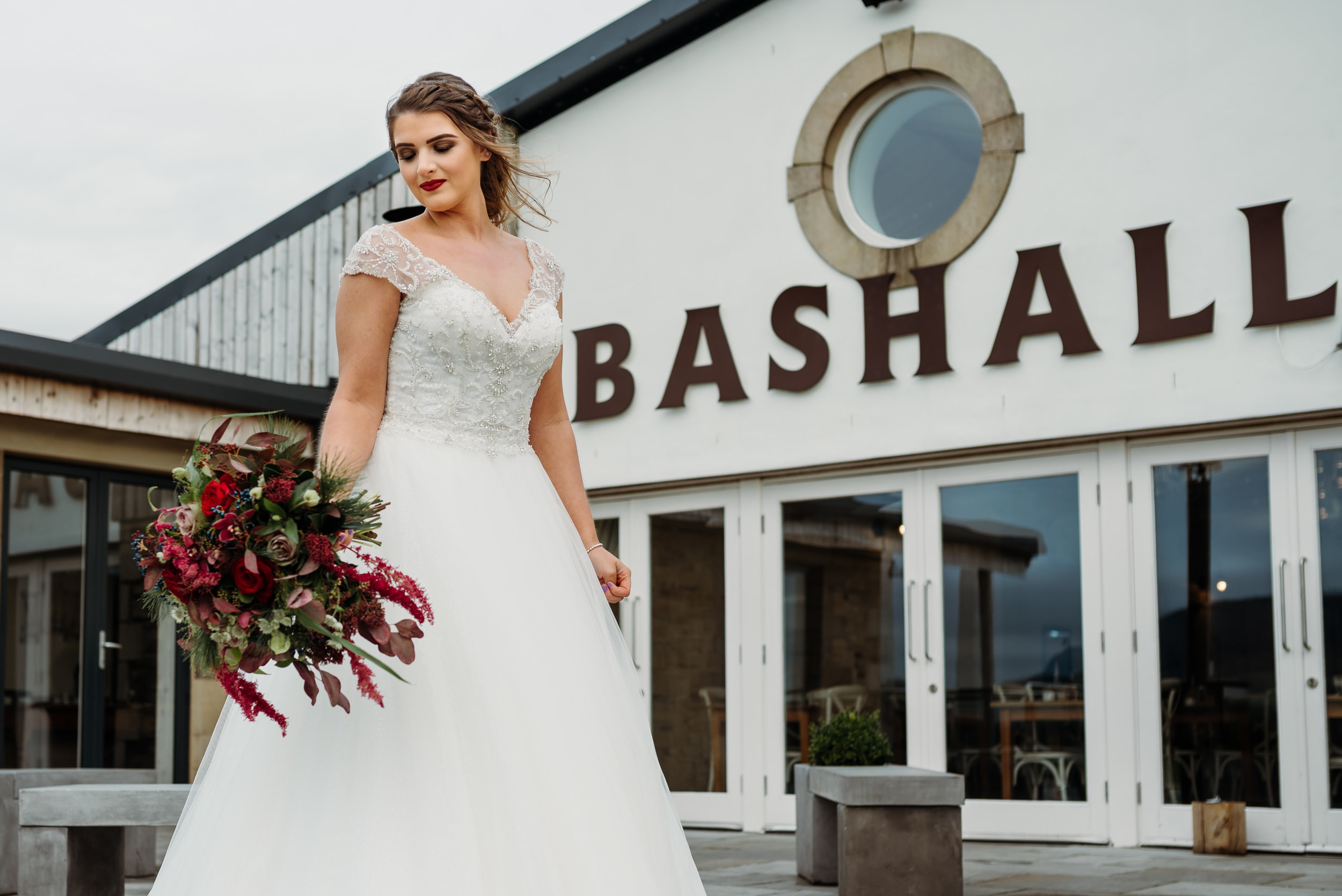 Bashall Barn, Clitheroe wedding