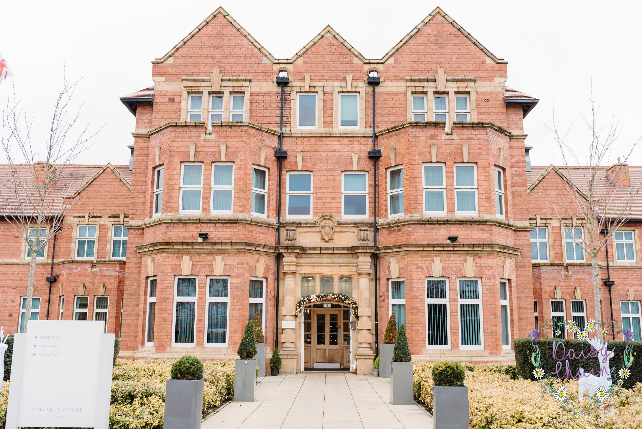 Cheadle House, Cheshire wedding