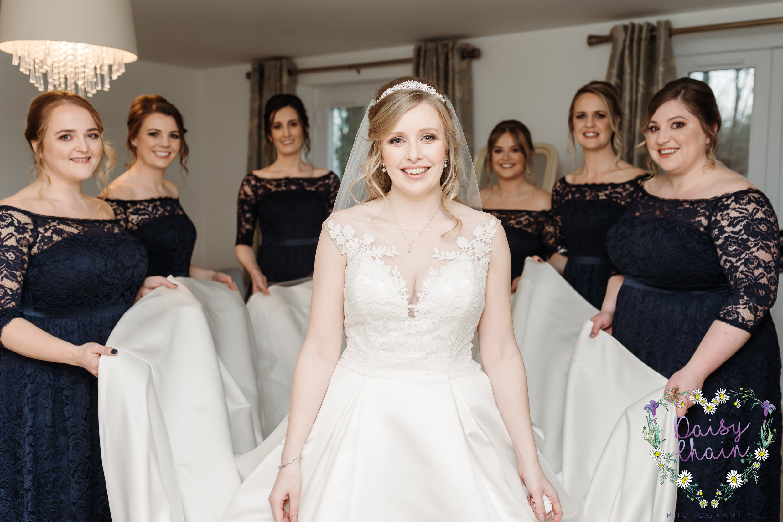 bride squad goals - lancashire wedding photographer