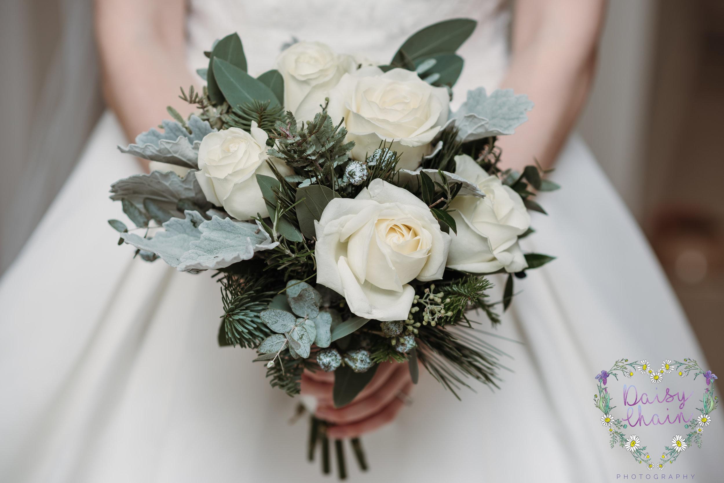 Stunning bridal bouquet - lancashire