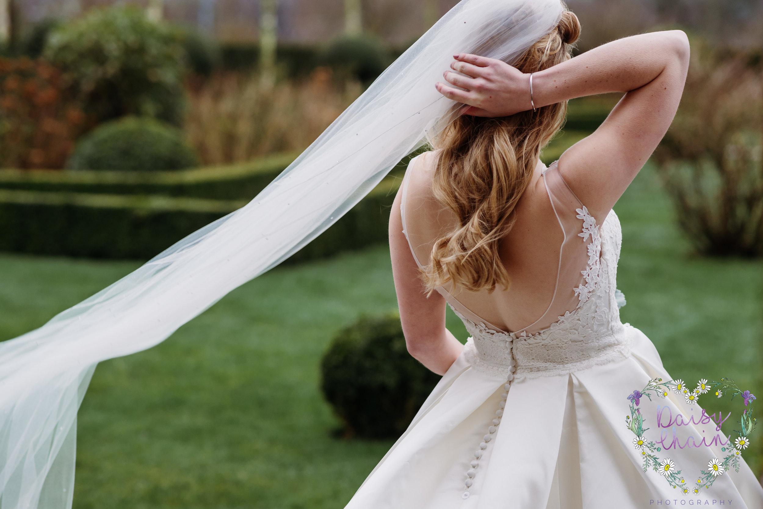 windswept veil