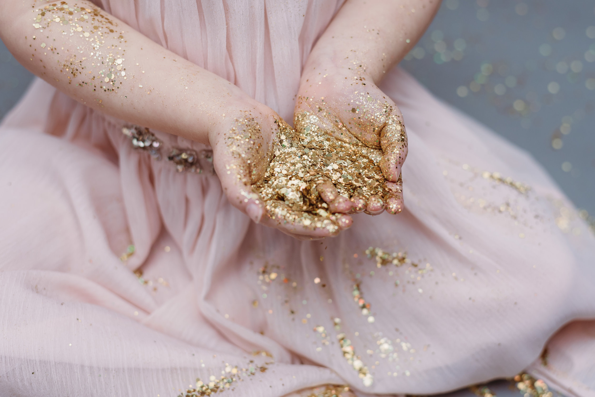 Ribble Valley glitter session