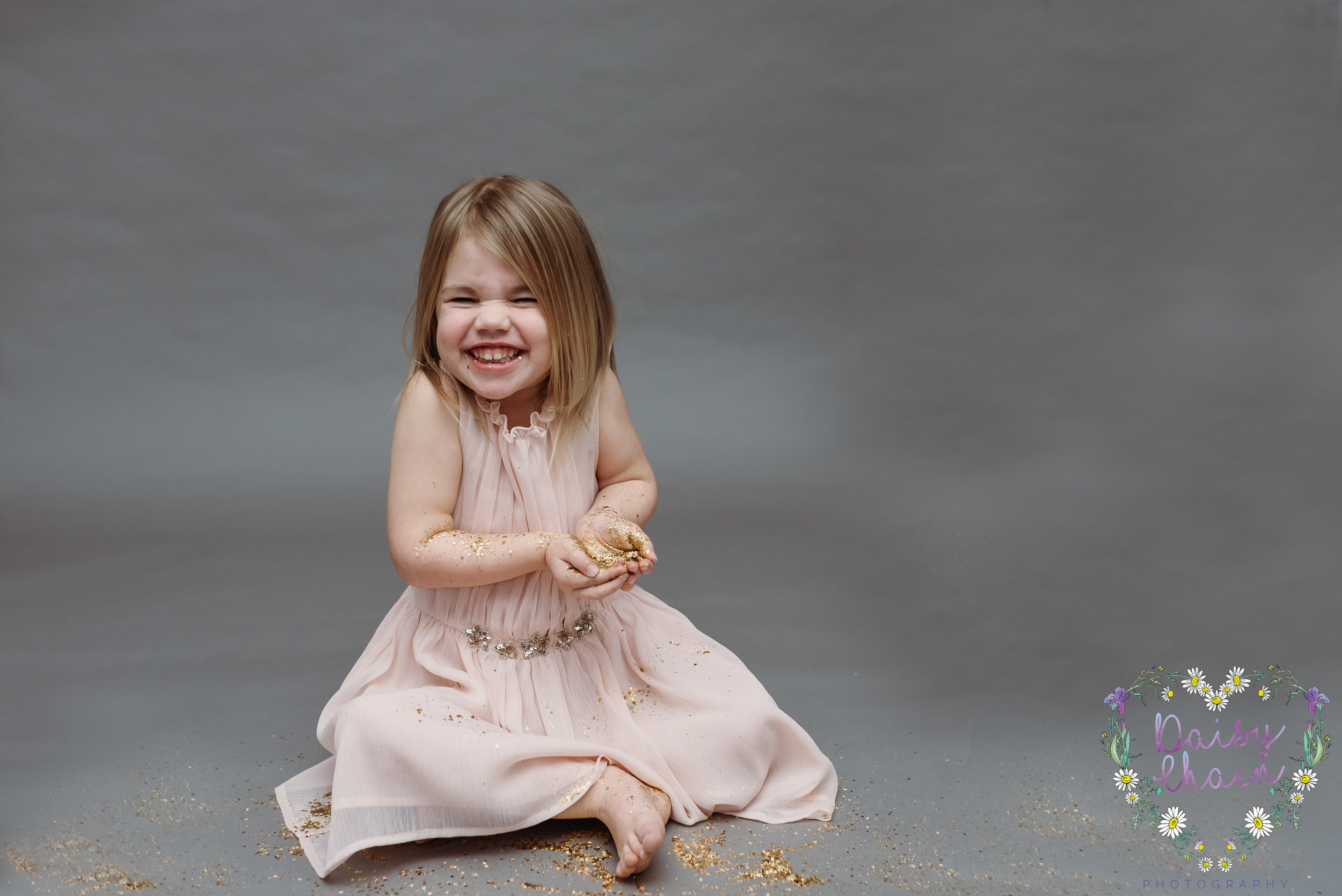 Clitheroe family photographer - glitter session