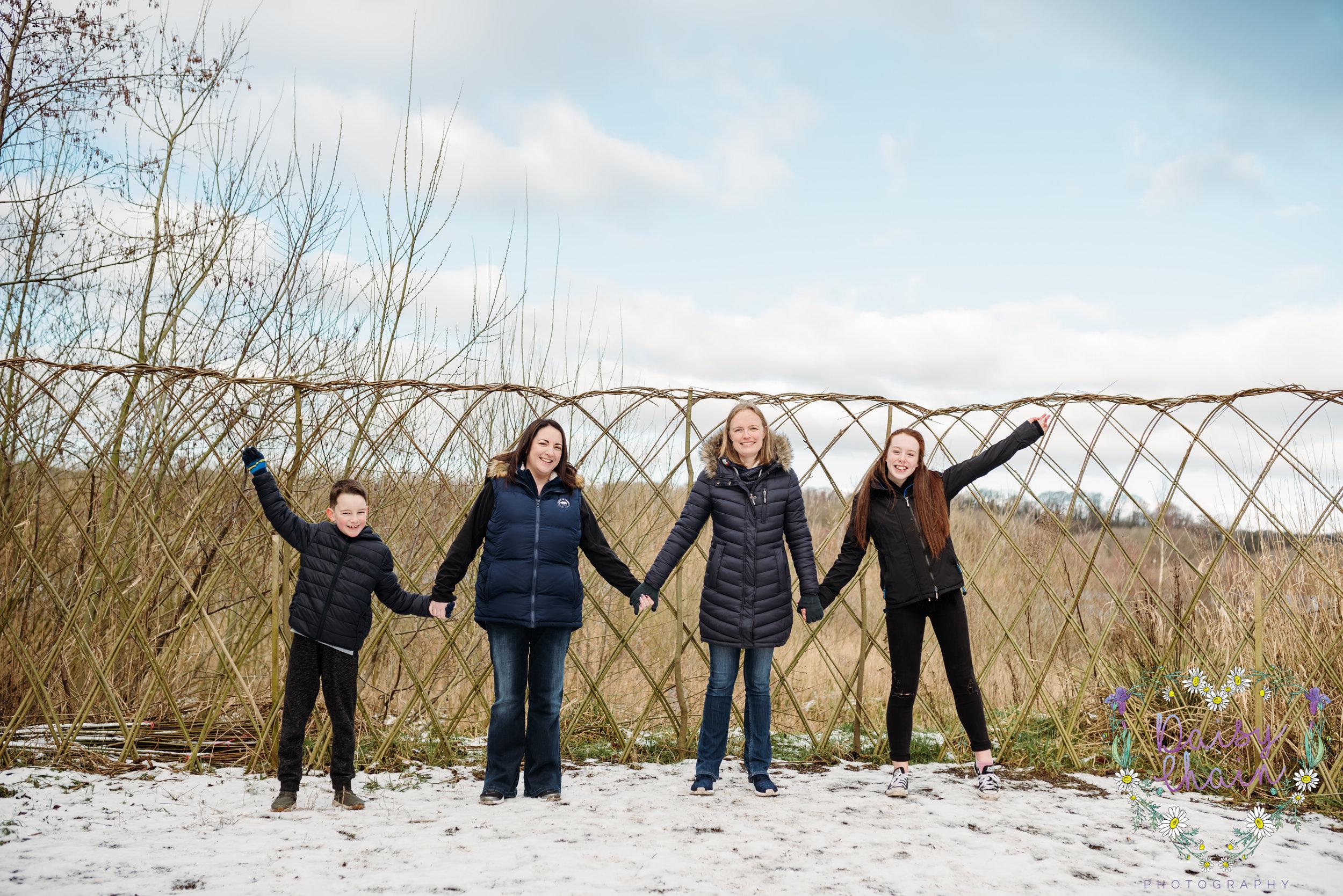 Family fun at Brockholes Nature Reserve