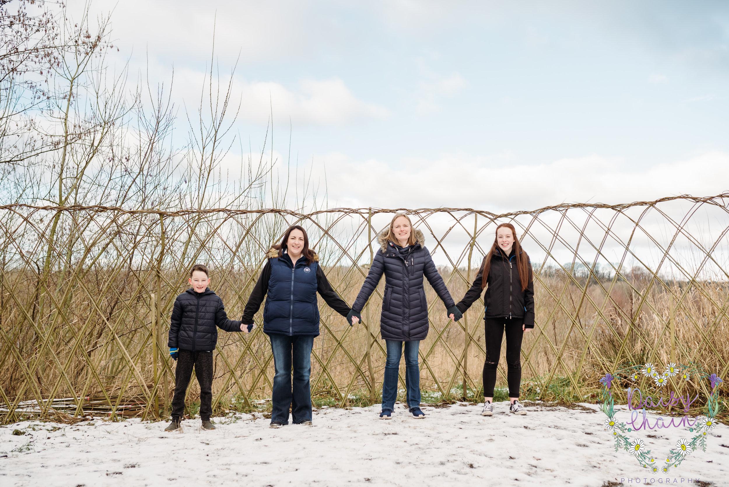 Family shoot at Brockholes